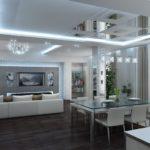 cuisine salon séjour 15 m2 idées d'aménagement