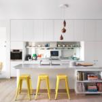 cuisine salon 15 m2 décoration