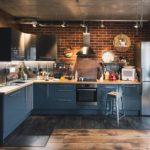 cuisine séjour salon 15 m2 agencement
