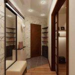 idée d'un couloir de style lumineux chambres dans une maison privée photo