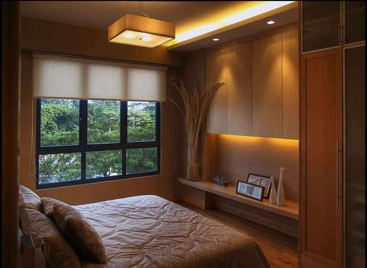 possibilité d'un intérieur lumineux d'une chambre de 15 m²