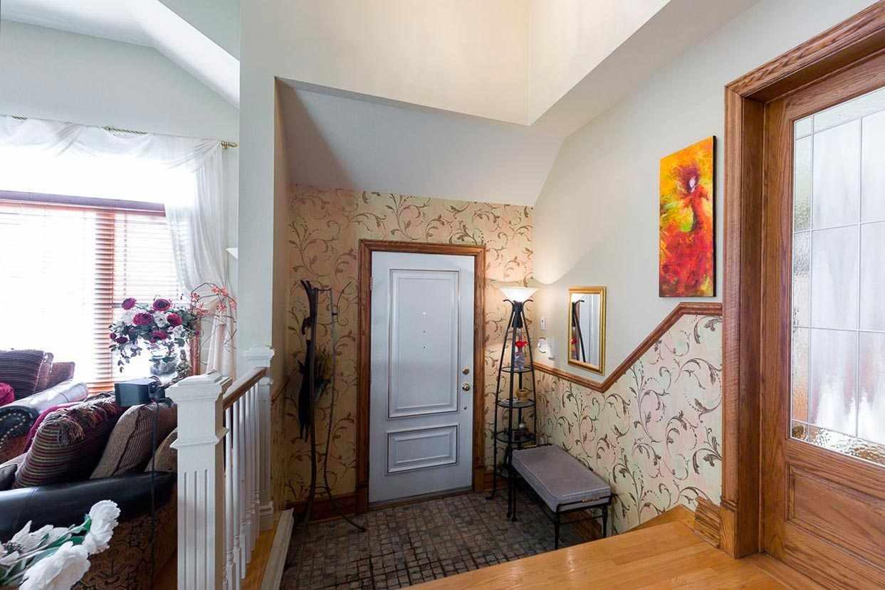 l'idée d'un beau couloir intérieur chambres dans une maison privée