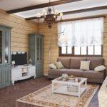 phiên bản của sự chứng minh nội thất đẹp trong bức tranh phòng khách