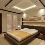 l'idée d'un beau design d'une photo de chambre étroite