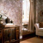 variante d'un beau papier peint intérieur pour l'image du salon
