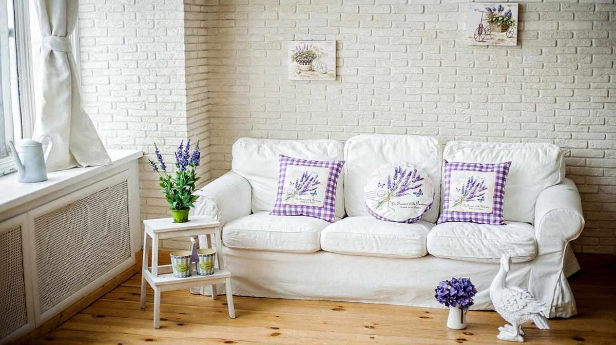 tùy chọn phong cách tươi sáng trong phòng khách