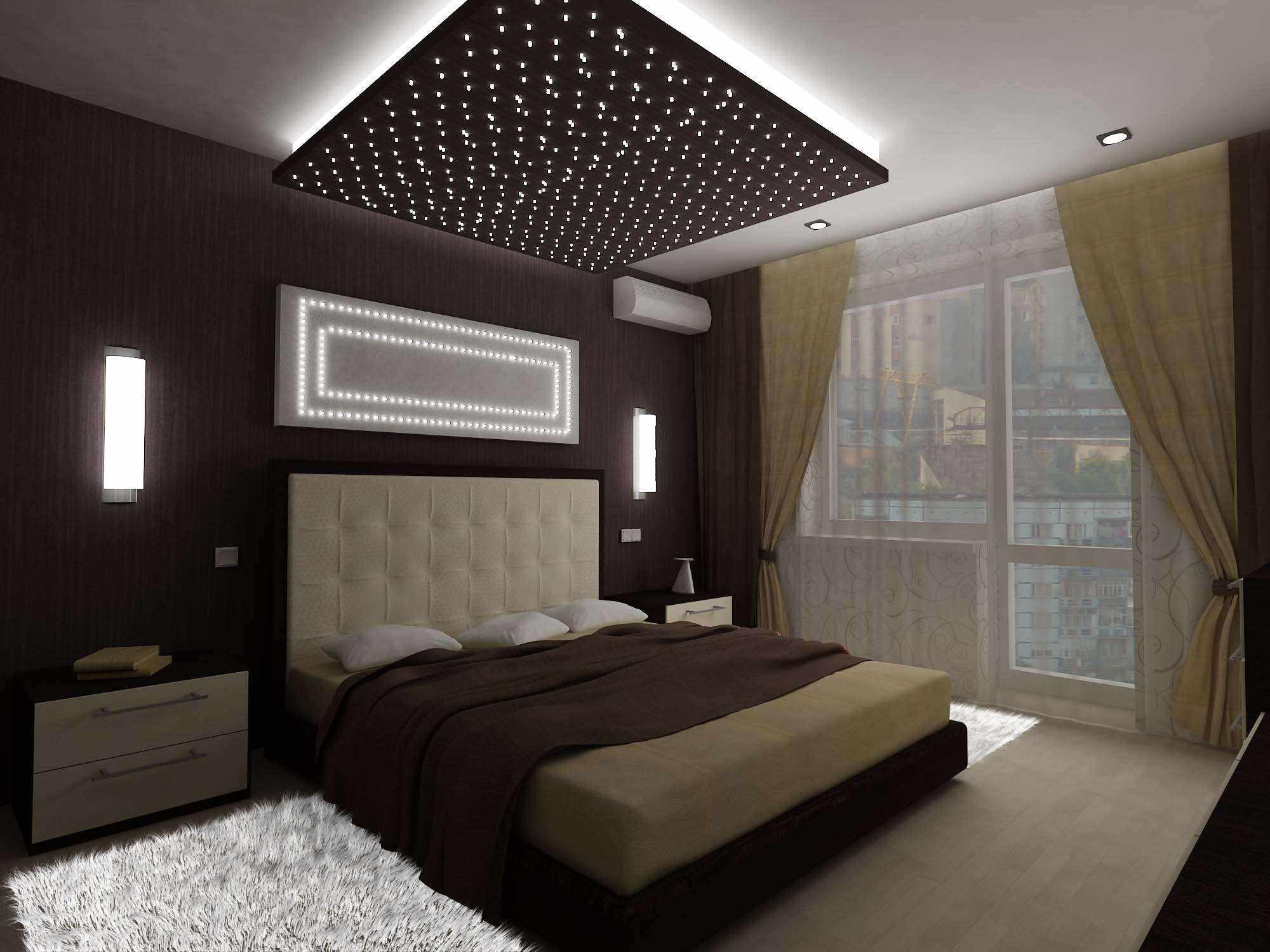 idée d'un design insolite d'une chambre de 15 m²