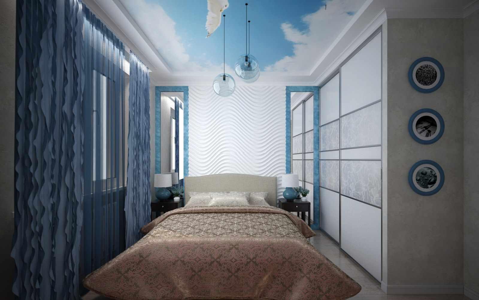 Un exemple de décoration de chambre lumineuse