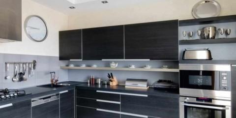 idee de o fotografie de bucătărie cu colț interior interior luminos