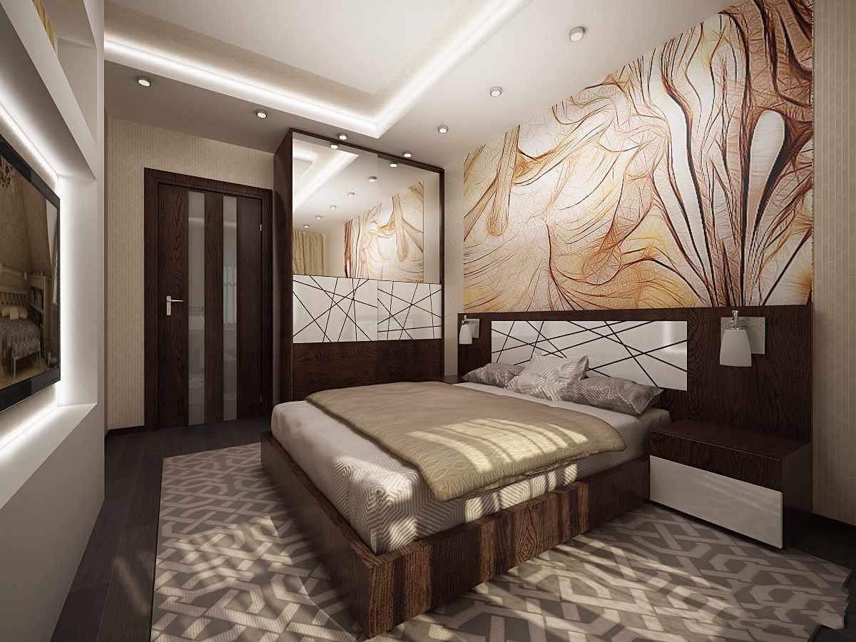 l'idée d'un intérieur lumineux de 15 m²