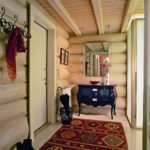 version de la conception lumineuse du couloir dans une maison privée photo
