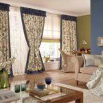 Một ví dụ về thiết kế Provence sáng sủa trong bức tranh phòng khách