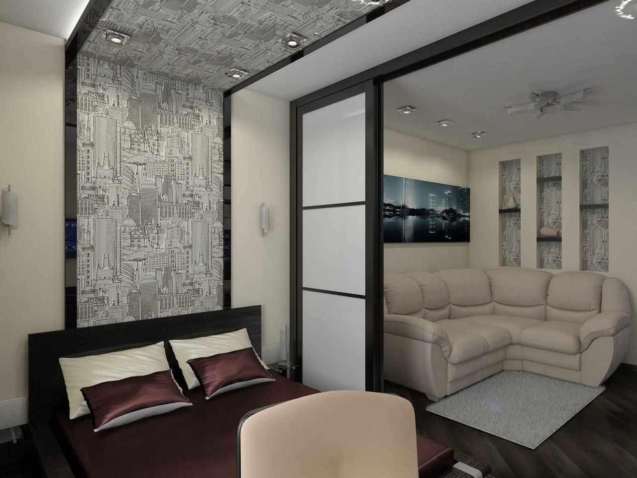 variante d'un beau décor de chambre 15 m²