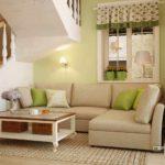 ví dụ về một trang trí đẹp trong bức tranh phòng khách