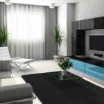 ý tưởng về một phong cách khác thường của giấy dán tường cho bức tranh phòng khách