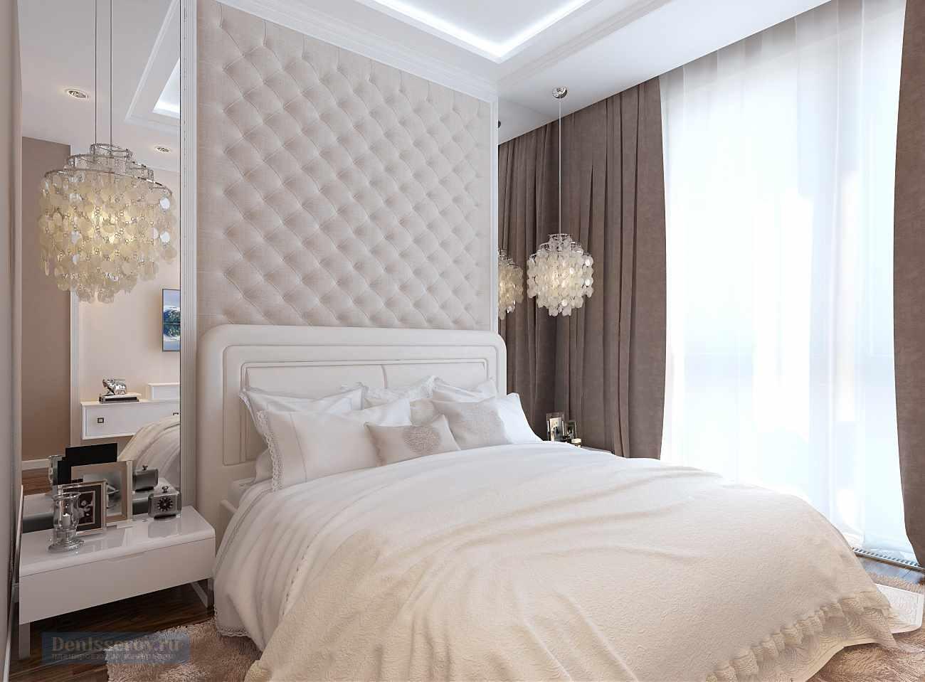option pour un intérieur de chambre lumineux