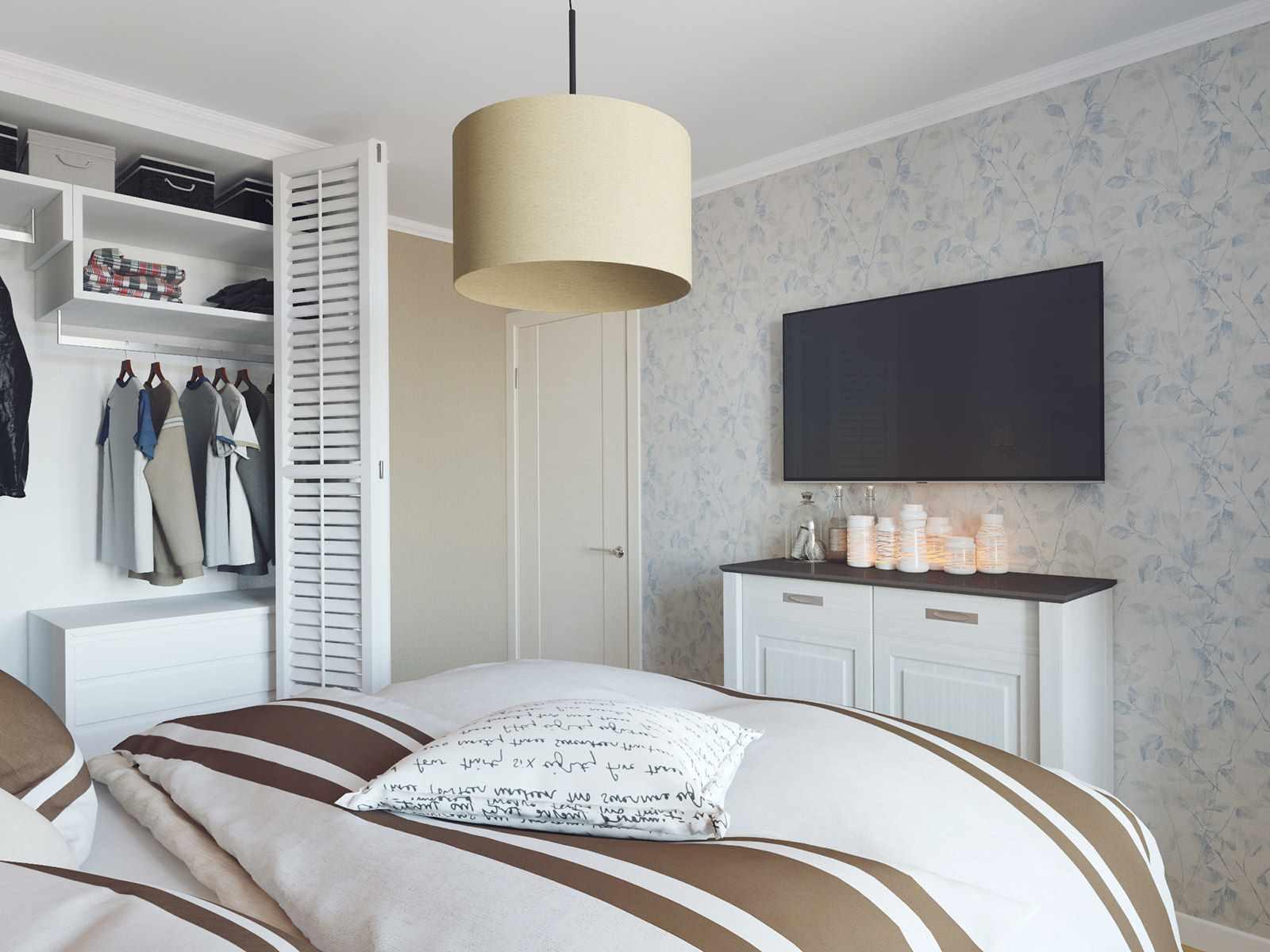 variante d'un beau design d'une chambre