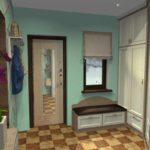l'idée d'un couloir intérieur inhabituel dans une maison privée