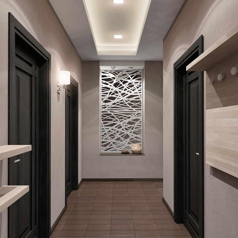 idée d'un couloir de style lumineux dans une maison privée