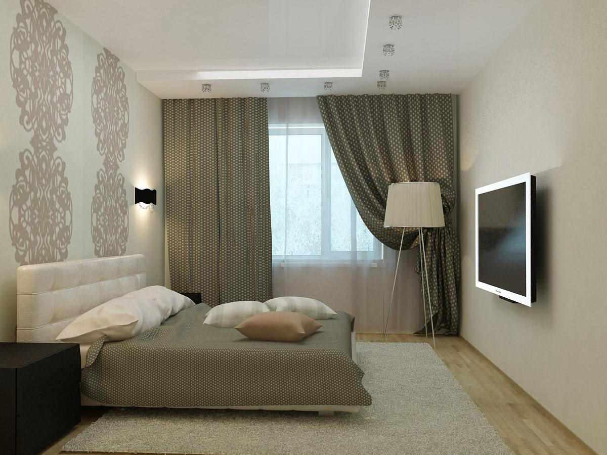 version du style lumineux de la chambre étroite