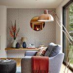 tùy chọn hình nền thiết kế ánh sáng cho hình ảnh phòng khách