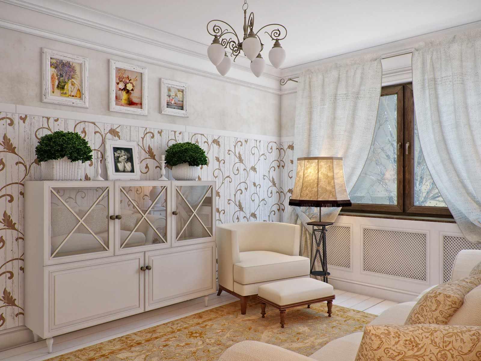 ý tưởng về một nội thất sáng sủa trong phòng khách
