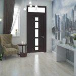 idée de conception inhabituelle d'un couloir dans une maison privée photo