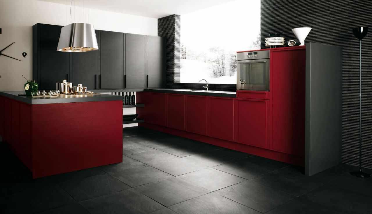 variantă a stilului neobișnuit al bucătăriei roșii
