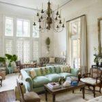 Một ví dụ về thiết kế Provence ánh sáng trong ảnh phòng khách