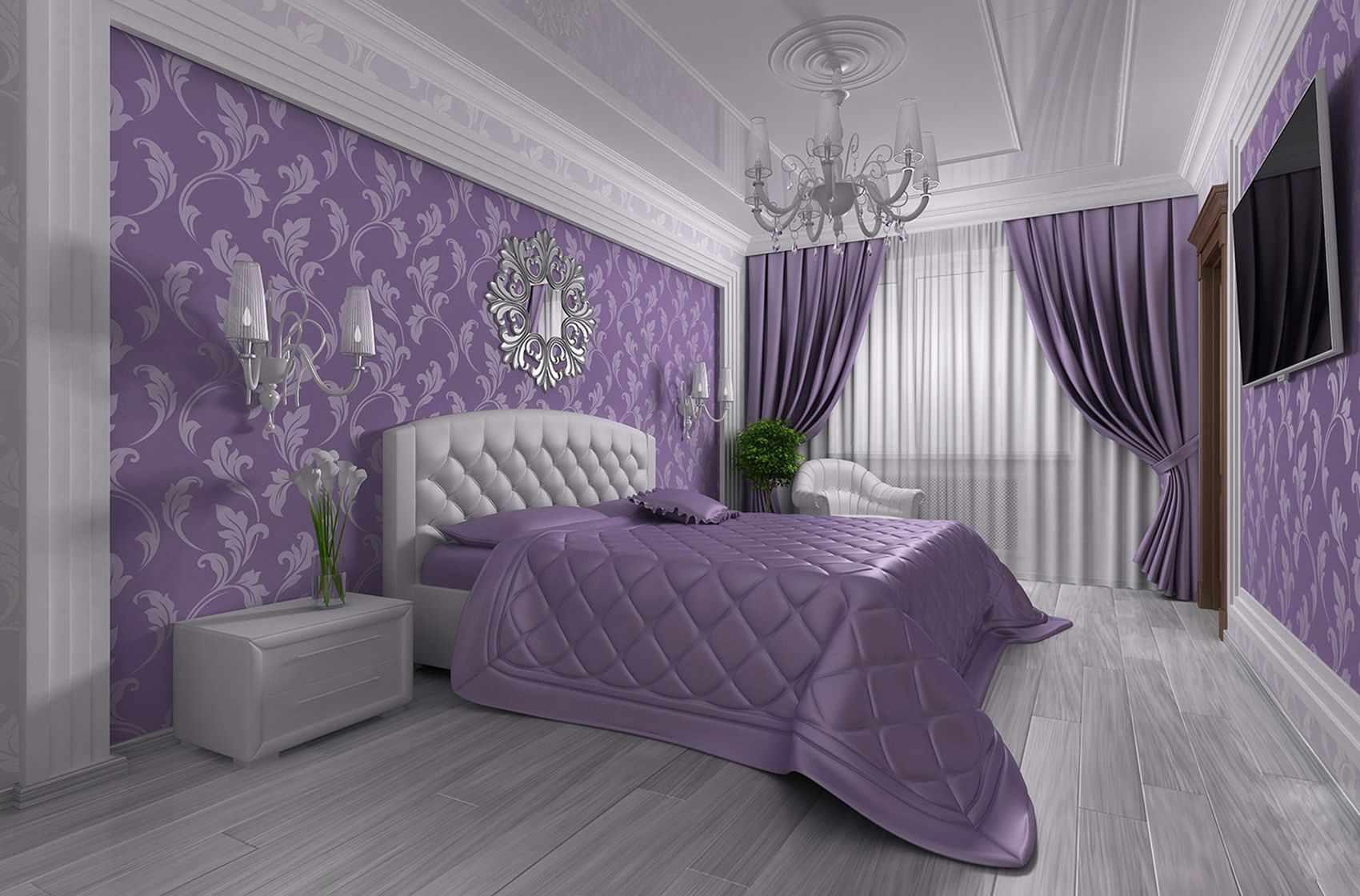 un exemple d'un beau style de chambre