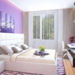 Un exemple d'un beau design d'une chambre de 15 m²