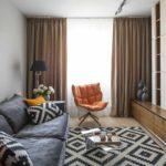 tùy chọn sử dụng trang trí ánh sáng của phòng khách theo phong cách ảnh tối giản