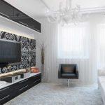 variante du décor insolite du salon photo 17 m²