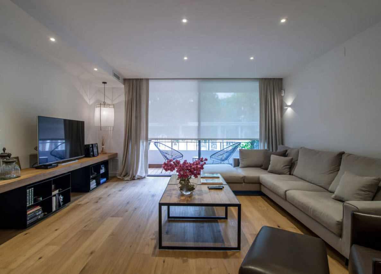 ý tưởng về một phòng khách nội thất sáng sủa 19-20 m2