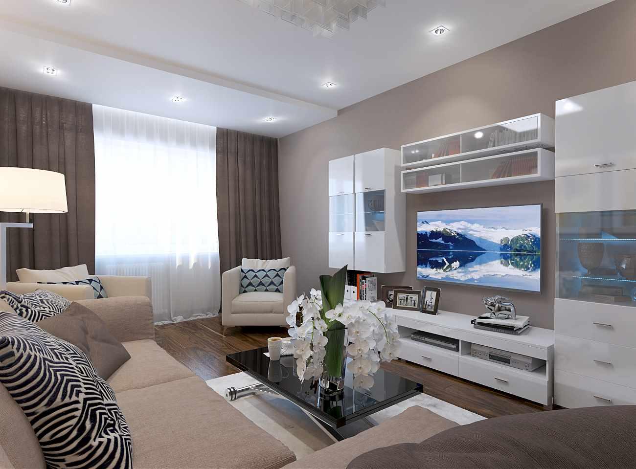 idée d'un style insolite d'un salon 17 m²