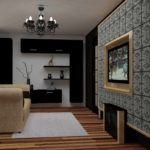 ý tưởng thiết kế khác thường của phòng khách ảnh 19-20 m2