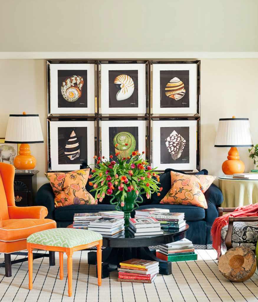 exemple d'un beau décor d'un salon de 25 m²