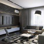 idée d'un décor lumineux d'un salon photo 25 m²