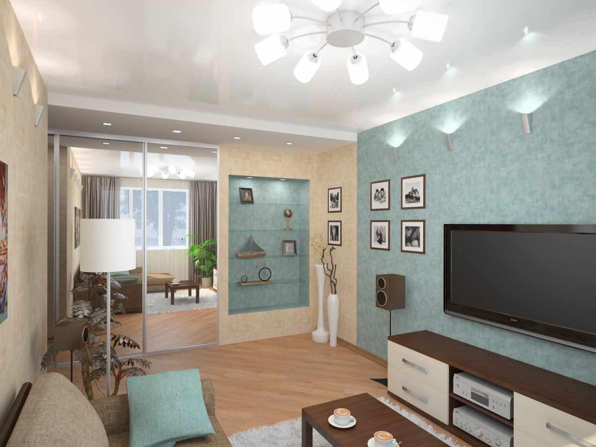 idée d'un style insolite d'un salon 16 m²