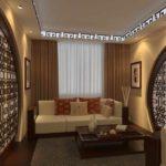 ý tưởng thiết kế sáng sủa của phòng khách ảnh 19-20 m2