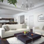 un exemple de salon lumineux de 25 m² photo