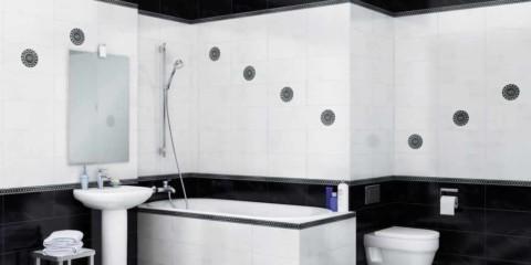 exemple d'un beau design d'une salle de bain avec carrelage