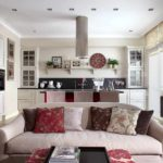 exemple d'un beau décor d'un salon photo de 16 m²