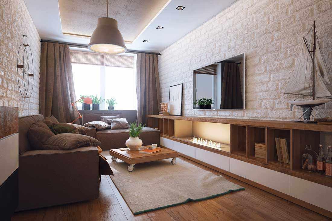 l'idée d'un salon lumineux de 16 m²