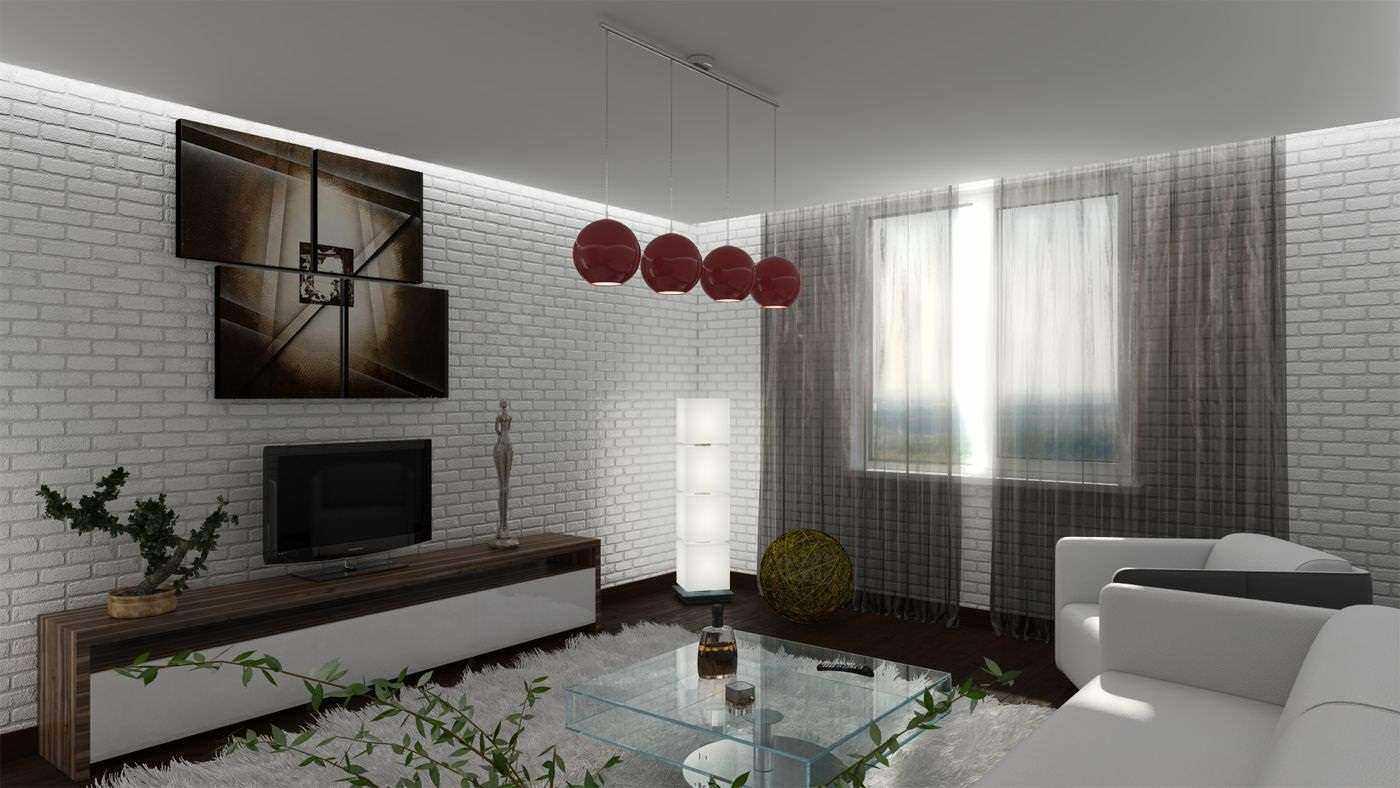 một ví dụ về việc sử dụng nội thất đẹp của phòng khách theo phong cách tối giản