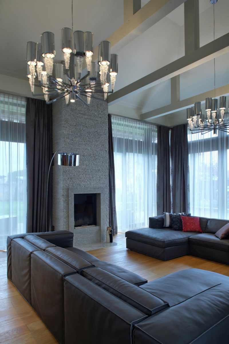 possibilité d'un décor lumineux d'un séjour 16 m²