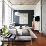 exemple d'un bel intérieur d'un salon photo 16 m²