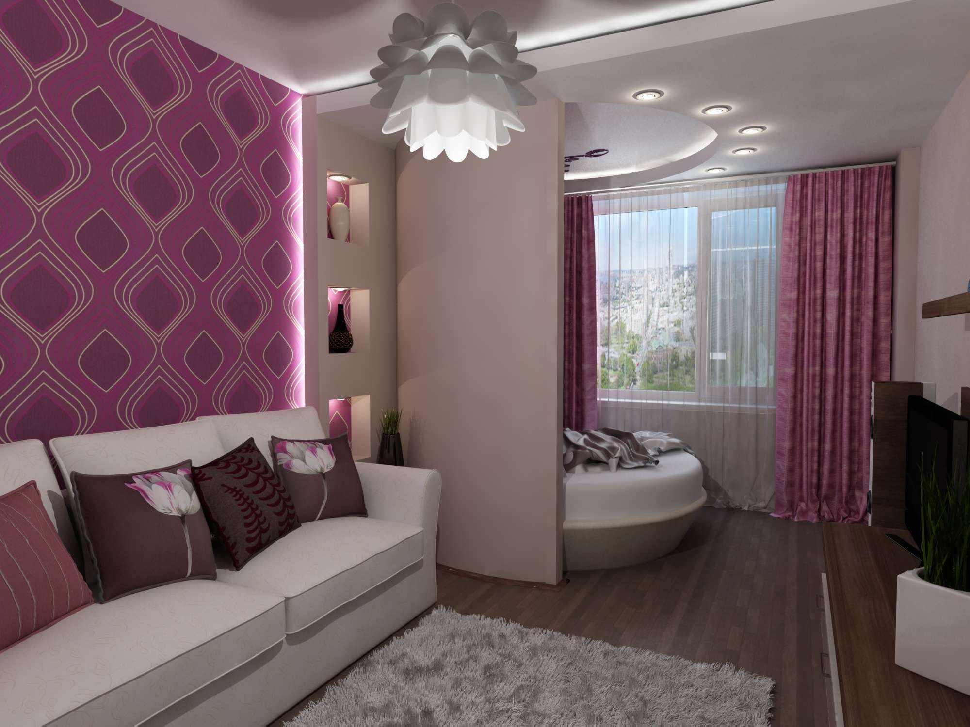 l'idée d'un beau design d'un salon 16 m²