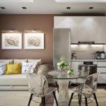idée d'un style insolite d'un salon photo 25 m²