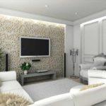 un exemple de salon lumineux de 17 m² photo
